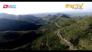 ERi-TV: Aerial view of the Menguda/Shiketi road - Zoba Debub