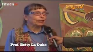 American Prof. Betty La Duke Art Exibition in Asmara